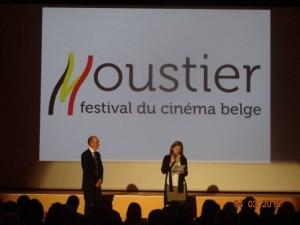 photo de mon discours lors de la cérémonie d'ouverture du festival de Moustier